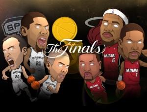 NBA-Finals-2013-Spurs-vs-Heat-Wallpaper-ipad 2