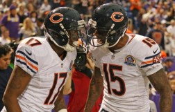 WR tandem Brandon Marshall and Alshon Jeffery have turned the Bears offense into a potent force