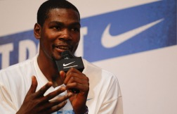 Reigning MVP Kevin Durant signed a $300M contract to stay with Nike