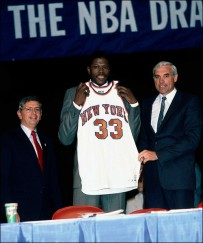The New York Knicks landed Patrick Ewing thanks to the NBA Draft Lottery