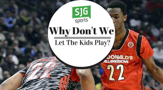 Why Don't We Let The Kids Play?