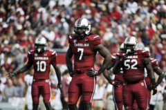 Clowney (7) had a less than stellar junior year to avoid injury before his NFL career started